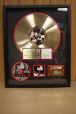 RIAA Gold Sales Award (bad boy's da band too hot for tv)