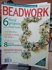 BEADWORK MAGAZINE JEWELRY FLowers Bead BOOK NeckLace Bracelet Earrings