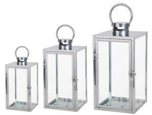 Modern Spirit Stainless Steel Garden Wedding Candle Holder Lantern Decoration