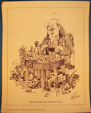 The Magician Who Wouldn't Quit-Print by Anthony J. Dunn(Tony Dunn)1981-v.Fine-Af