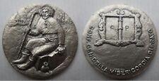 medaglia in argento a ricordo della Misericordia di Prato