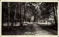 Jablonec nad Jizerou Tschechien s/w AK ~1920/30 Partie z parku Partie im Wald