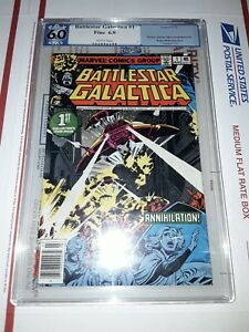 Battlestar Galactica #1 PGX 6.0  1980 Marvel Comics Group