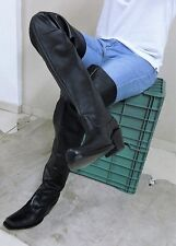 Thigh high cowboy boot , 32 INCH SHAFT, genuine leather boots in stock  size 11