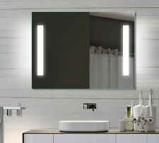 luxaqua LED Badezimmerspiegel Badspiegel Wandspiegel Lichtspiegel 80x60 SPE8060H