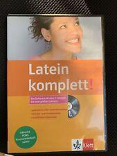Latein komplett CD-Rom Klett Software ab 1. Lernjahr bis zum großen Latinum Pons
