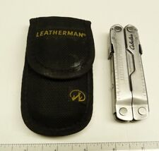 LEATHERMAN FOLDING MULTITOOL POCKET KNIFE: REBAR & NYLON CASE -B26#20