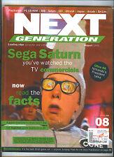 Aug 1995 Next Generation Video Game Mag Sega SATURN Nintendo 64 Bullfrog