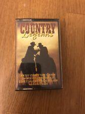 Original Album Cassette - Country Legends - Various Artists - 1993