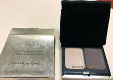 KEVYN AUCOIN The Eye Shadow Duo - #207 Soft Gold Lame / Smokey Brown. New in Box