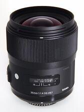 Sigma Art 35 mm F/1.4 DG HSM IF ASP Objektiv - Nikon Ausstellungsstück