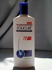 FOLICURE Original Shampoo for Fuller Thicker Hair, 11.8 fl oz. Strengthens hair!