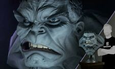 sideshow bust hulk grey life size busto limited edition 150 only