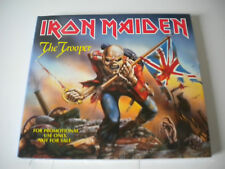 "CD IRON MAIDEN ""THE TROOPER"" RARE PROMOTIONAL CARDBOARD CD SINGLE"