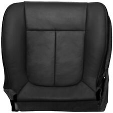 2009-2010 Ford F150 Lariat Driver Bottom Perforated Seat Cover- Black Leather