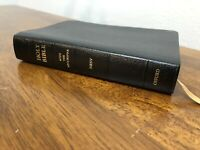 Rare Oxford New Revised Standard Version NRSV Bible Pocket Anglicized Leather