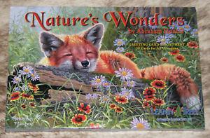 LEANIN TREE Nature's Wonders 20 CARD ASSORTMENT~1 each 20 Designs #90808~Animals