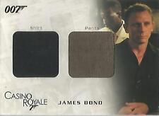 "James Bond In Motion - DC03 ""Bond's Shirt & Pants"" Costume Card #989/999"