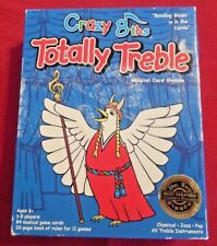 """Box of Musical Card Games Crazy 8ths """"Totally Treble"""" 1-9 Players Ages 6+ LEARN"""