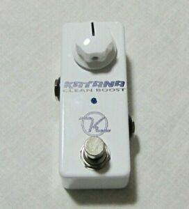 Used Keeley Katana Mini Boost Guitar Effects Pedal