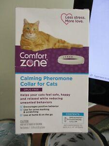 COMFORT ZONE CAT CALMING BREAKAWAY COLLAR Calming Pheromone Collar For Cats