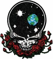 GRATEFUL DEAD - SPACE YOUR FACE - EMBROIDERED PATCH - BRAND NEW - MUSIC 1227
