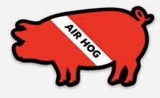 Air Hog Scuba Dive Sticker Diver Down Laptop Cup Car Window Bumper Flag Decal