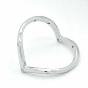 925 Sterling Silver Twisted Minimalist Wedding Bridal Dainty Band Heart Ring