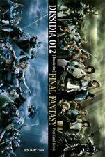 Final Fantasy Dissidia 012 Post Card Book