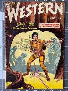DC Western Comics #46 FN 1954 Golden Age Western POW WOW SMITH
