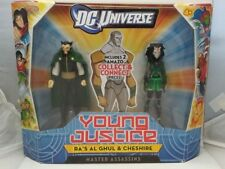 Ra's Al Ghul Cheshire DC Universe Young Justice Master Assassins 2 Pack 2011