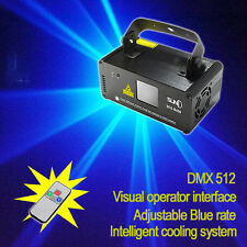 SUNY Blue 450mW Ray Beam Scanner Laser Stage DJ Disco Party Light Show DM-B450