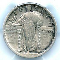 1918/7-S Standing Liberty Quarter, PCGS VF-30, Key Date, Very Rare Overdate!