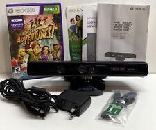 Xbox 360 KINECT Motion SENSOR Bar - Power Cable - Box / Manual