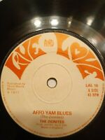 "The Zionites ‎– Affo Yam Blues 7"" Vinyl Single 1977 UK Copy"