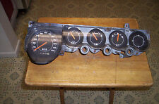 1970-74 PLYMOUTH 'CUDA, DODGE CHALLENGER NONE RALLY GAUGE CLUSTER