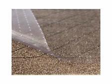 Clear Vinyl Plastic Floor Runner/Protector For Low Pile Carpet Non-Skid 27 X