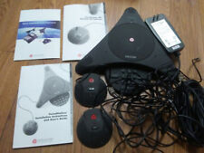 Polycom Soundstation EX Conference Phone 2201-03309-001-G with manual microphone