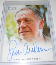 LOST Rittenhouse Archives Autograph Trading Card SAM ANDERSON/ BERNARD NADLER(B)