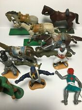 Various Timpo Britains Lone Star Horses Figures etc