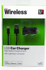 Lot of 48 Apple Certified Lightning USB Cable+CarUSB  2.1A iPhone/5/6/6s/6plus