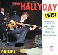 Johnny Hallyday ‎CD Single Twist - Tirage Limité Numéroté - France (VG+/EX+