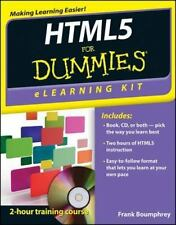 HTML5 eLearning Kit For Dummies, Boumphrey, Frank, Good Book