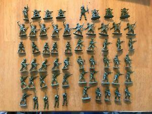 Airfix Vintage 1/32 Scale Modern German Infantry & British Infantry - 58 figs