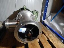 Westfalia Separator MZB 10 Centrifugal Pump 6 fans with Loher Electromotor 4 KW