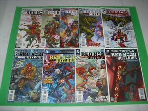 New 52 Red Hood & the Outlaws 1-9 all VF/NM! DC 2011 run and set 2398