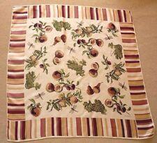Ann Taylor Very Beautiful 100% Luxurious Silk Design Scarf !