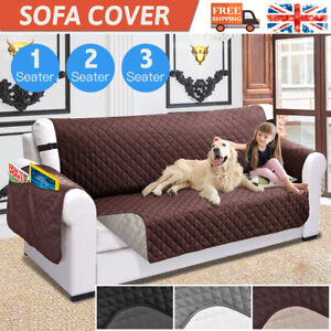 Dog Sofa Covers Washable Anti Slip Couch Waterproof Quilted Protector Cover