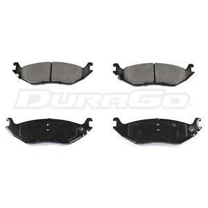 Rear Brake Pads DuraGo Semi-Metalic BP898MS