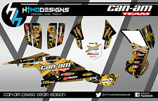 CAN-AM DS450 GRAPHIC KIT STICKERS DS 450 DECALS STICKER GRAPHICS CANAM DECAL